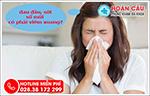 Đau đầu, sốt nhẹ và sổ mũi có phải là dấu hiệu của viêm xoang?