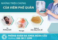 Phòng khám Tai Mũi Họng Hoàn Cầu - địa chỉ chữa viêm phế quản hiệu quả tại TPHCM