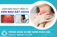 Đau rát cổ họng: Nguyên nhân, triệu chứng và các ảnh hưởng nghiêm trọng