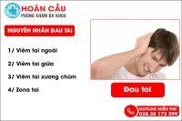 Đau tai: Nguyên nhân và cách điều trị hiệu quả