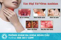Những biến chứng thường gặp của viêm amidan
