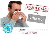 Triệu chứng viêm mũi cảnh báo những bệnh lý không nên xem thường