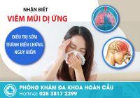 Viêm mũi dị ứng là gì? Nguyên nhân và triệu chứng bệnh cần điều trị sớm