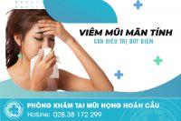 Nguyên nhân và phương pháp điều trị viêm mũi mãn tính hiện nay