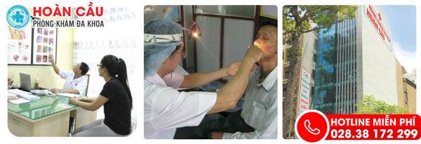 Điều trị viêm amidan nhanh, hiệu quả tại tphcm -PK Tai Mũi Họng Hoàn Cầu